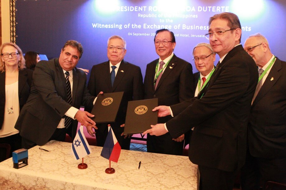 Philippine Delegation to Israel