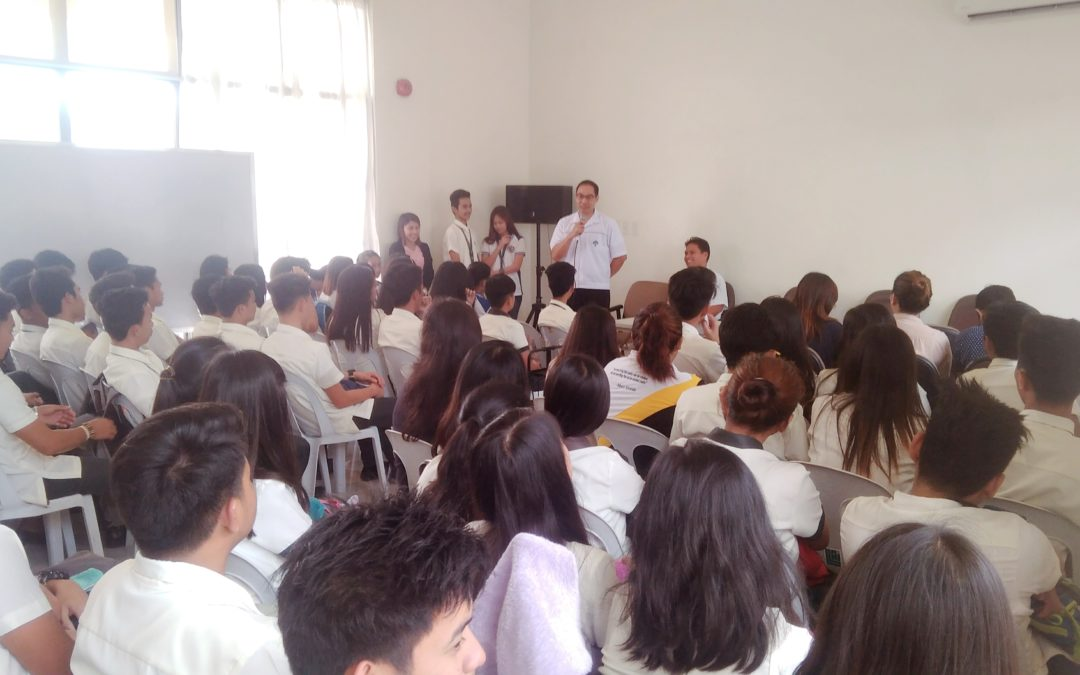 Immersion of Senior High School Students at LISP I, II and III Completed