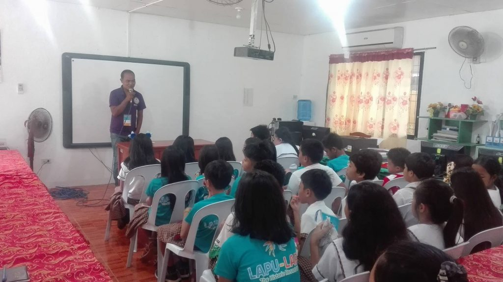 Waste Management Campaign with Elementary Students