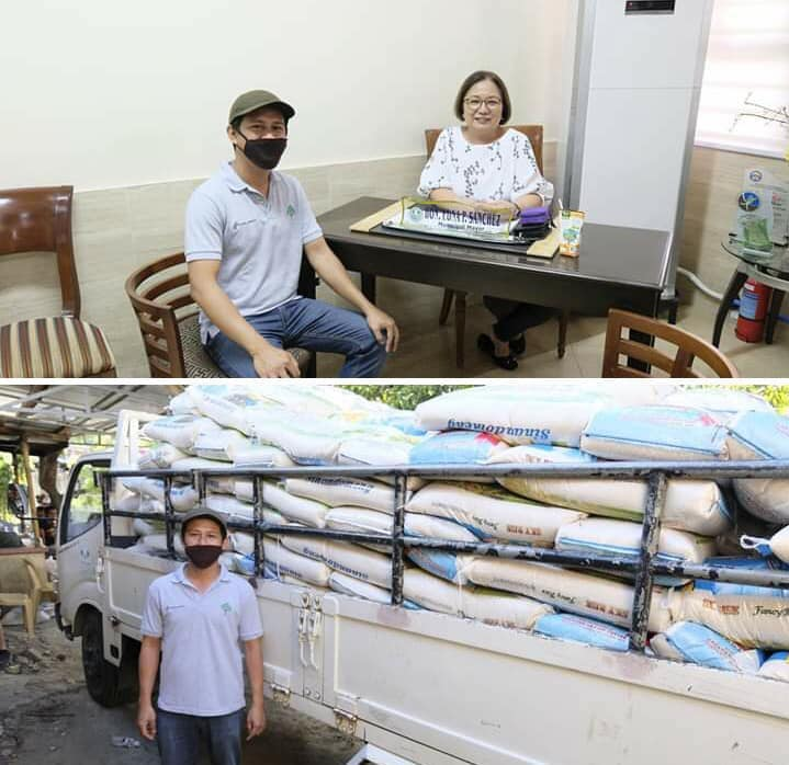 Rice Donations by the Science Park of the Philippines
